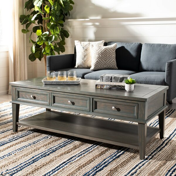 Joanna Coffee Table With Storage By Rosecliff Heights