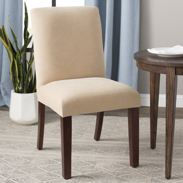 Stretch Pique Short Chair Slipcover by Sure Fit