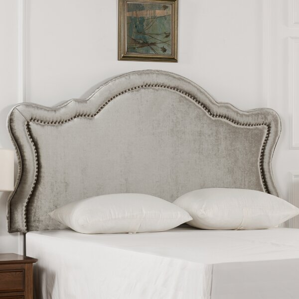 Fonseca Upholstered Panel Headboard by Everly Quinn