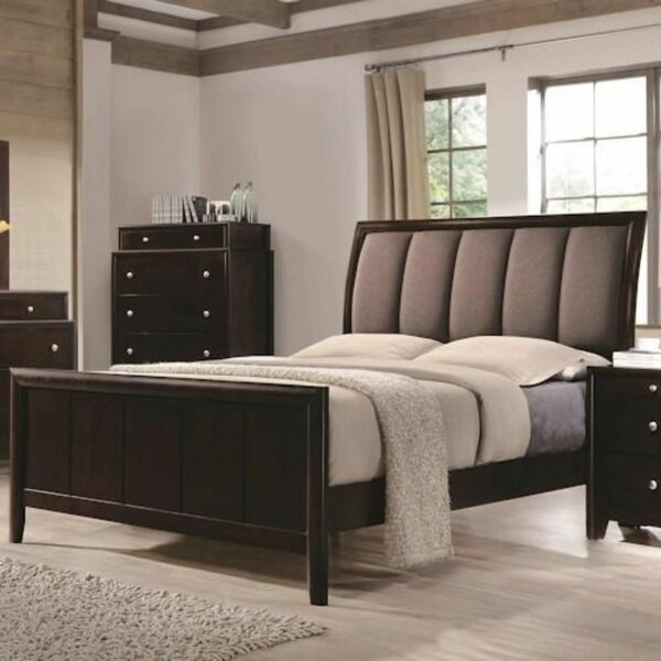 Tulloch Upholstered Standard Bed by Red Barrel Studio