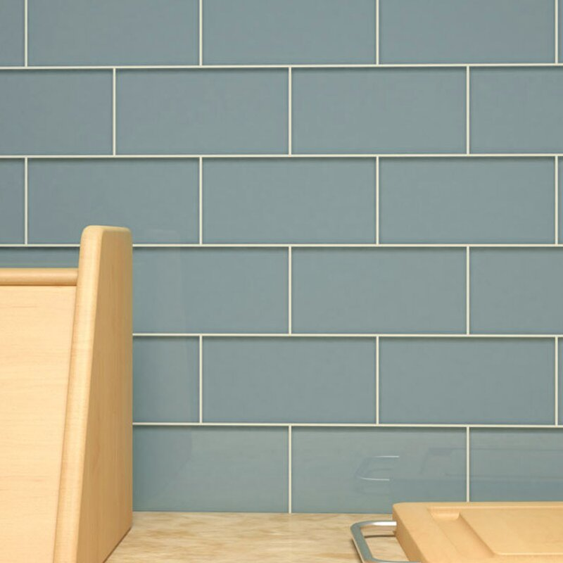 3 X 6 Gl Subway Tile In Slate