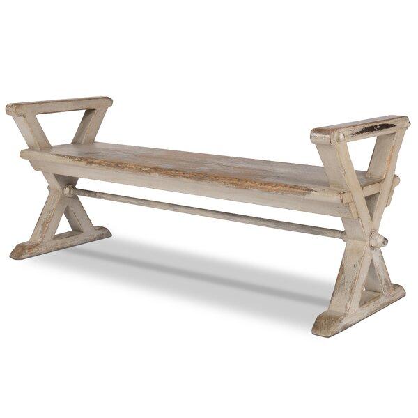 Sylvan Wood Bench by One Allium Way