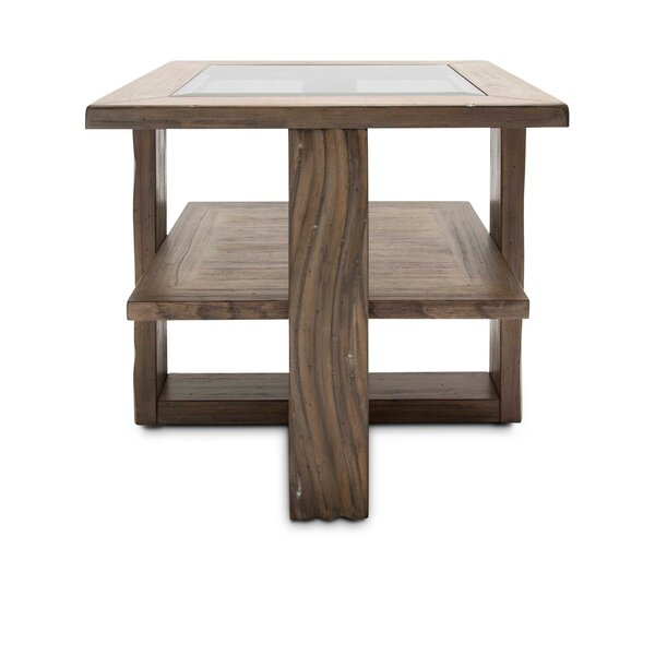 Gisela End Table by Millwood Pines Millwood Pines