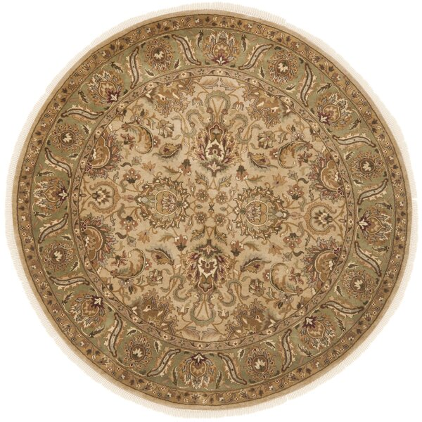 Dynasty Beige/Sage Area Rug by Safavieh