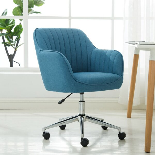 Papaleo Adjustable Height Office Chair by Orren Ellis