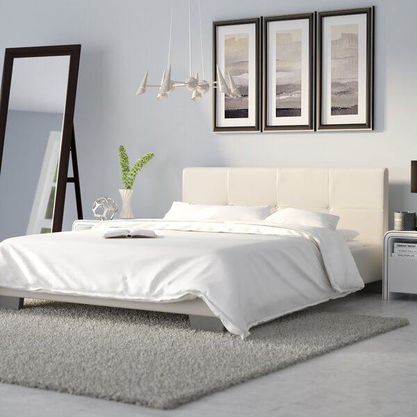 Ayana Upholstered Platform Bed by Wade Logan