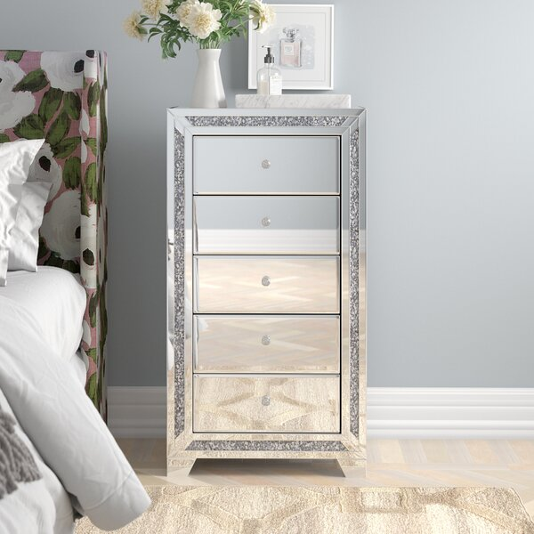 Aberdeen 5 Drawer Accent Chest by Rosdorf Park Rosdorf Park