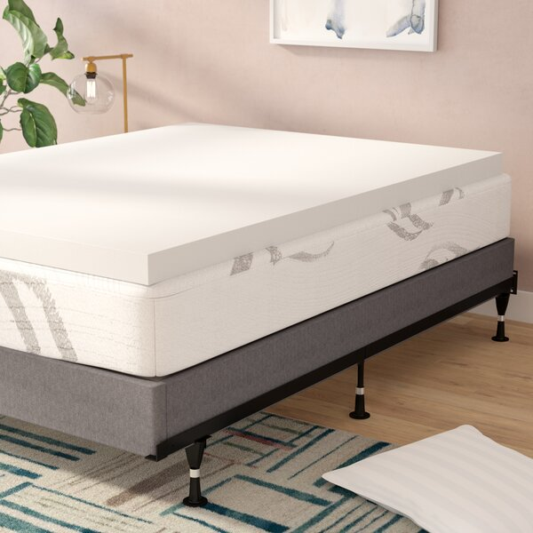 3 Memory Foam Mattress Topper by Alwyn Home