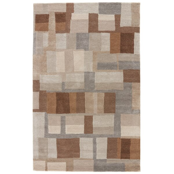 Ballylinney Gray/Brown Area Rug by Langley Street