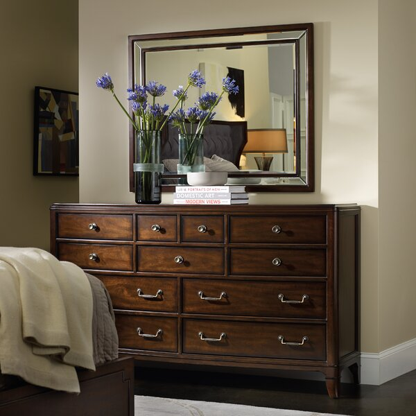 Palisade 11 Drawer Dresser with Mirror by Hooker Furniture