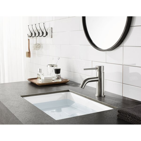New York Single Hole Bathroom Faucet with Drain Assembly by Kingston Brass Kingston Brass