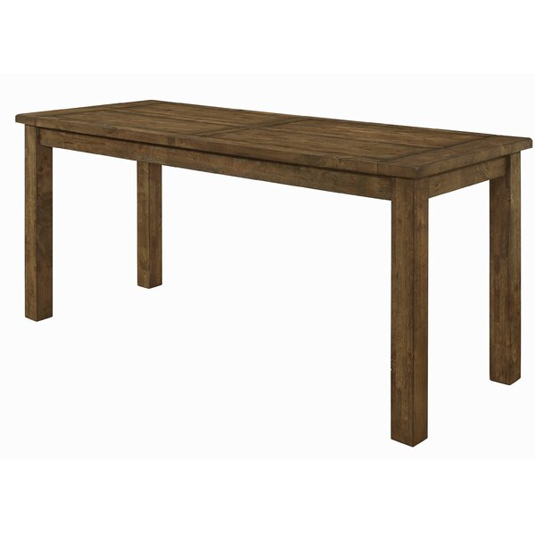Aster Counter Height Solid Wood Dining Table by Mistana Mistana