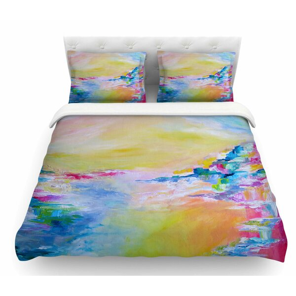 Something About the Sea by Ebi Emporium Featherweight Duvet Cover by East Urban Home