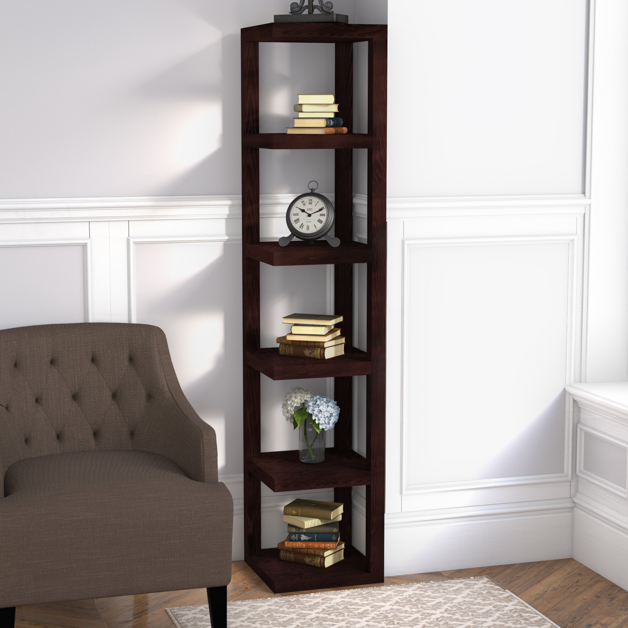 Red Barrel Studio Proclamation Hills Corner Unit Bookcase & Reviews