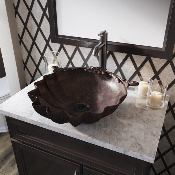 Bronze Specialty Vessel Bathroom Sink