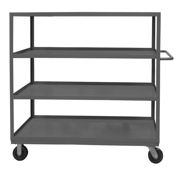 60 H x 36 W x 24 D 14 Gauge Steel Rolling Service Stock Cart by Durham Manufacturing