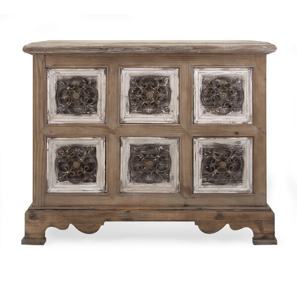 Mendell Stunning 6 Drawer Accent Chest by Bungalow Rose