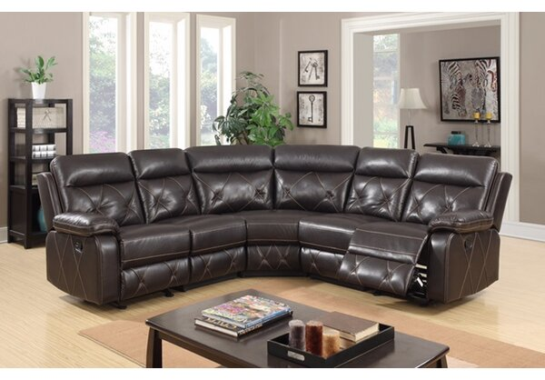 Best #1 Ullery Modern Reclining Sectional By Red Barrel Studio 2019 Coupon