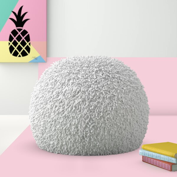 Daniella Shaggy Pouf by Hashtag Home