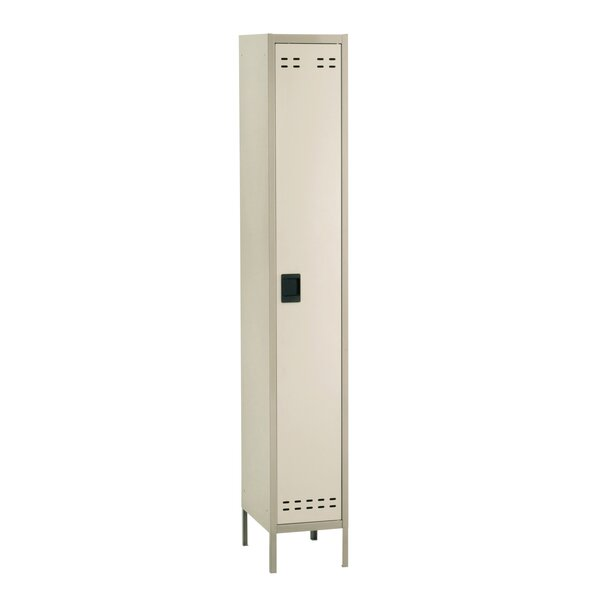 1 Tier 1 Wide School Locker by Safco Products Comp