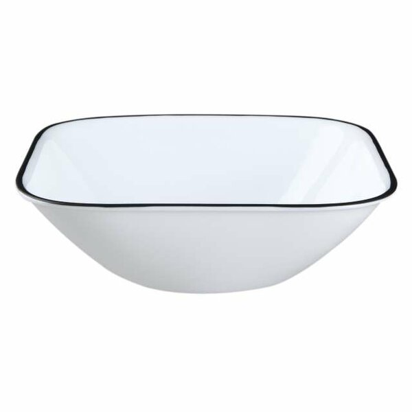 Simple Lines 22 oz. Soup/Cereal Bowl (Set of 6) by Corelle