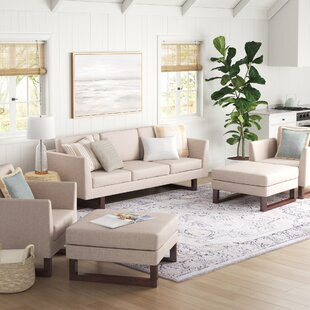 Alisson 5 Piece Standard Living Room Set by Sand & Stable™