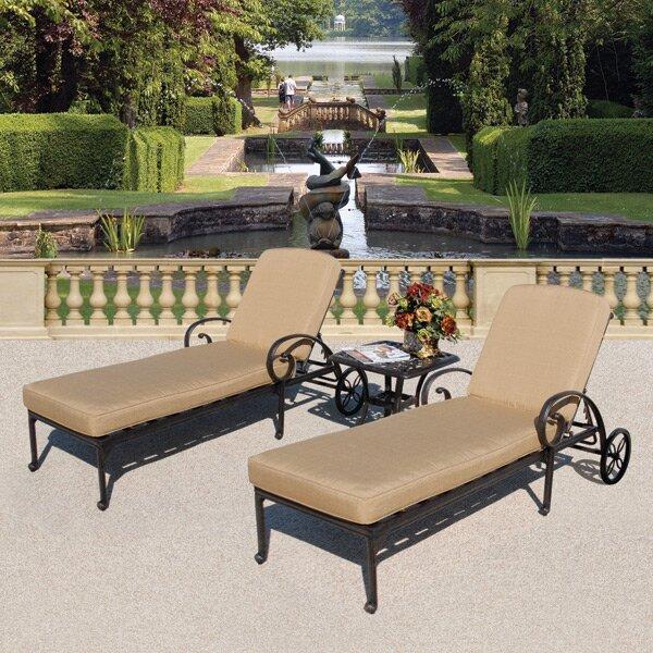 Maravilla Aluminum Side Table by Art Frame Direct
