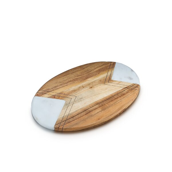 Hamler Oval Cheese Board and Platter by Wrought Studio
