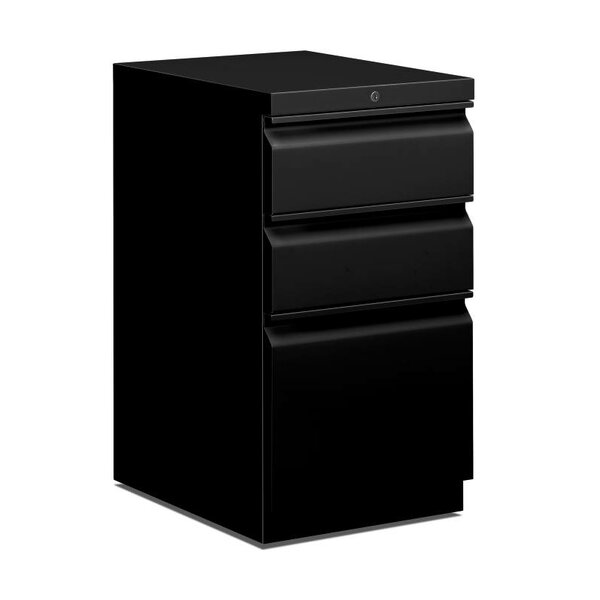 Basyx 3-Drawer Vertical Filing Cabinet by HON