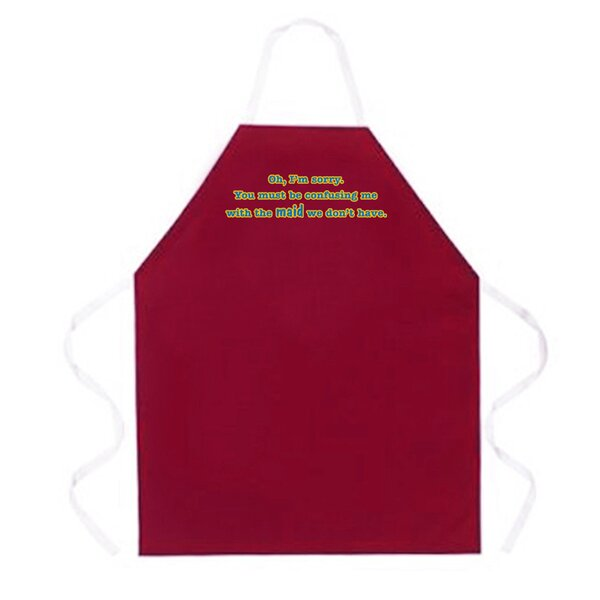 Confusing Me With Maid Apron by Attitude Aprons by L.A. Imprints