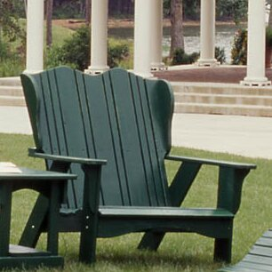 Plantation Wood Garden Bench by Uwharrie Chair
