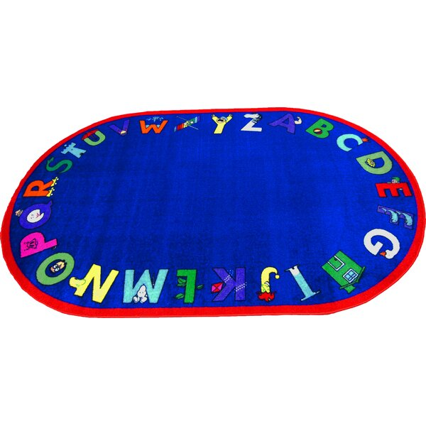 Alpha With Attitude Area Rug by Kids World Carpets