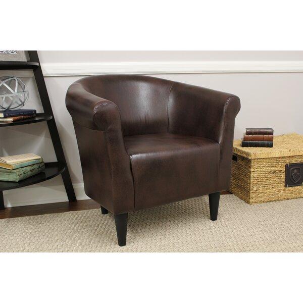 Adcock Barrel Chair by Ebern Designs