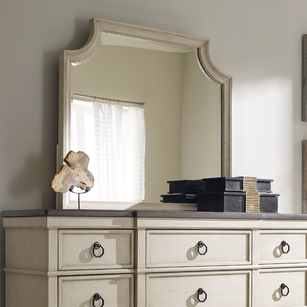 Arched Dresser Mirror by Lark Manor