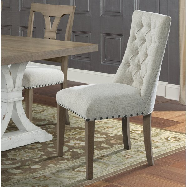 Schutz Upholstered Dining Chair by Gracie Oaks