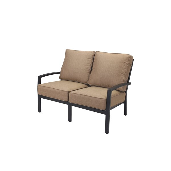 Kyree Loveseat with Cushions by Darby Home Co
