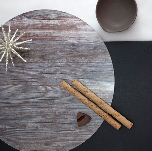 Nature Lignum Placemat (Set of 4) by Victoria Lekach