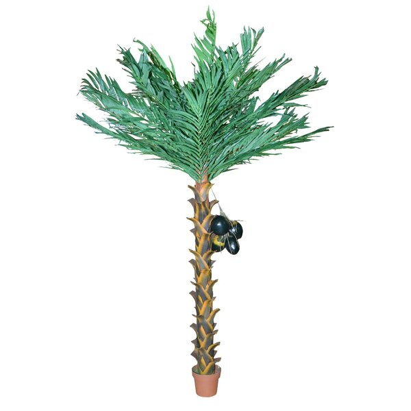 Artificial Coconut Palm Tree in Pot by Bamboo54