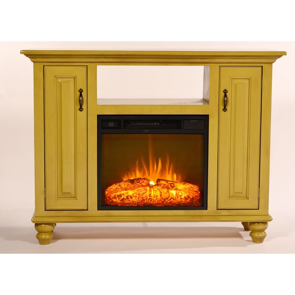 Blackwelder 52 TV Stand with Fireplace by Darby Home Co