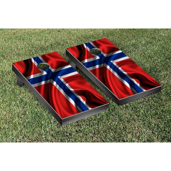 Country Flag Cornhole Game Set by Victory Tailgate