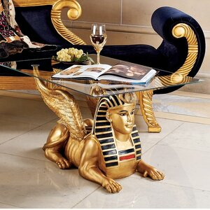 Egyptian Coffee Table Design Toscano