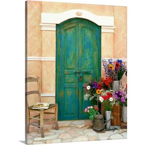 Fleuriste, Provence by Alan Klug Photographic Print on Wrapped Canvas by Great Big Canvas