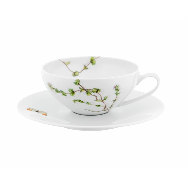Prairie Teacup and Saucer (Set of 4) by Vista Alegre