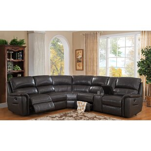 Camino Leather Reclining Sectional
