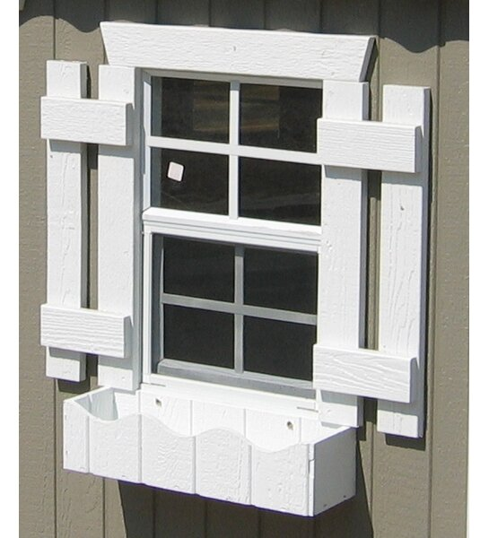 Playhouse Additional Windowbox by Little Cottage Company
