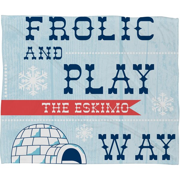 Spence Frolic and Play Fleece Polyester Throw Blanket by Ivy Bronx