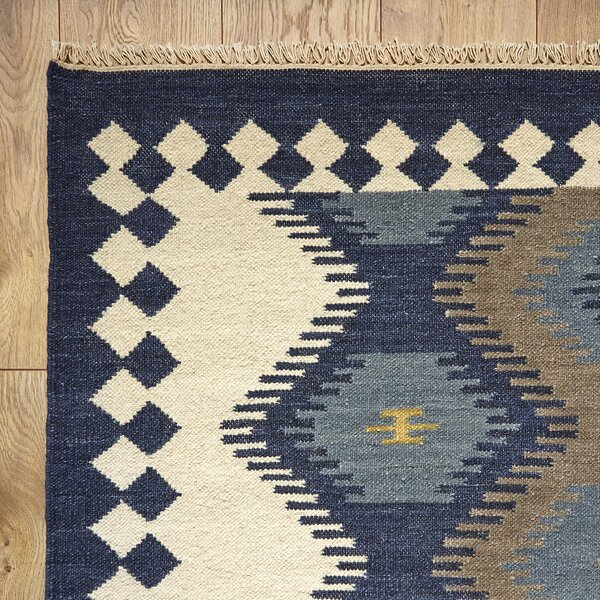 Anatolia Flat Woven Wool Area Rug by Birch Lane™