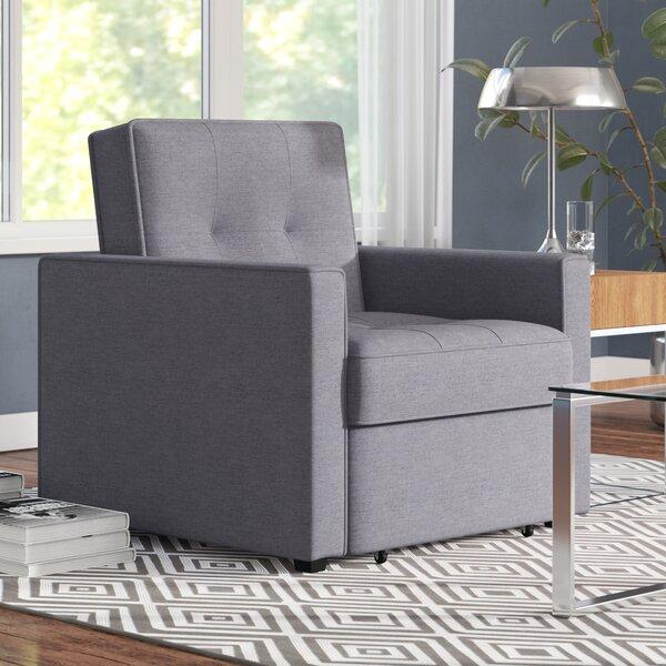 Cushman Convertible Chair by Ivy Bronx