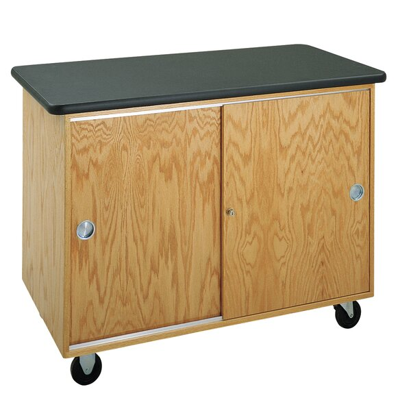 Standard Mobile Lab Table by Diversified Woodcrafts