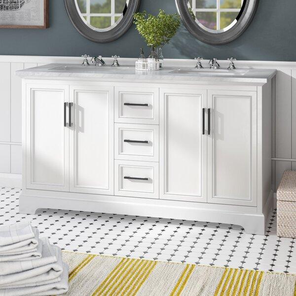 Ravenworth 60 Double Bathroom Vanity Set by Beachcrest Home
